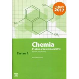 Kamil Kaznowski. Chemia. Próbne arkusze maturalne. Zestaw 2. Poziom rozszerzony
