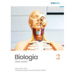 Biologia zbiór zadań Matura 2020-22 Tom 3 - poziom rozszerzony. J.Mieszkowicz, Wyd.BIOMEDICA